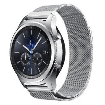 Bracelet acier inoxydable magnetique pour Samsung Gear S3 Frontier / S3  Classic , Silver , Montre connectée , Achat \u0026 prix