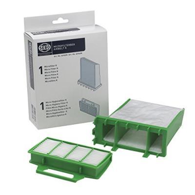 Sebo 6696er boîte de micro-filtres avec 1 micro-filtre k et 1 micro-filtre hygiénique k pour airbelt k1 (import allemagne)