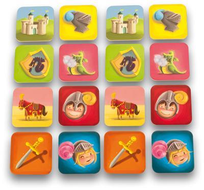 Table d addition couleur en bois jusqu'à 10 x 10 + sac de rangement