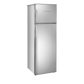 R frig rateur deux portes 260 litres 205 litres 55 litres schneider sdd260ix coloris - Refrigerateur deux portes ...