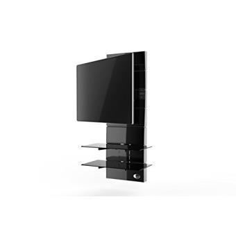 meuble de t l vision meliconi ghost 3000r noir meuble tv achat prix fnac. Black Bedroom Furniture Sets. Home Design Ideas