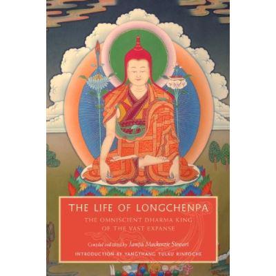 The Life of Longchenpa: The Omniscient Dharma King of the Vast Expanse - [Livre en VO]
