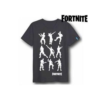 T shirt à manches courtes Enfant Fortnite 75061 Noir (Taille XS)