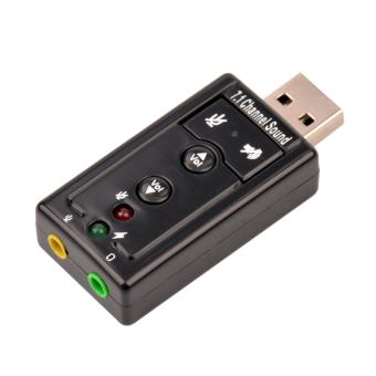 carte son usb externe CABLING® USB 2.0 7.1 Canal externe USB Audio Carte Son Adaptateur