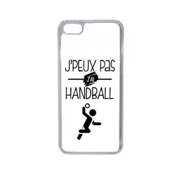 Coque j peux pas j ai handball 10 compatible iphone 7 transparent