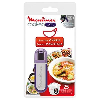 Moulinex xa600311 clé usb cookeo - 25 recettes asie