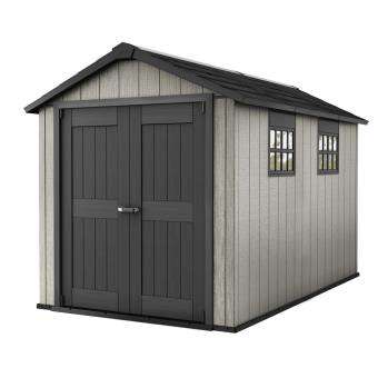 chalet jardin abri de jardin r sine 8 m2 avec plancher. Black Bedroom Furniture Sets. Home Design Ideas