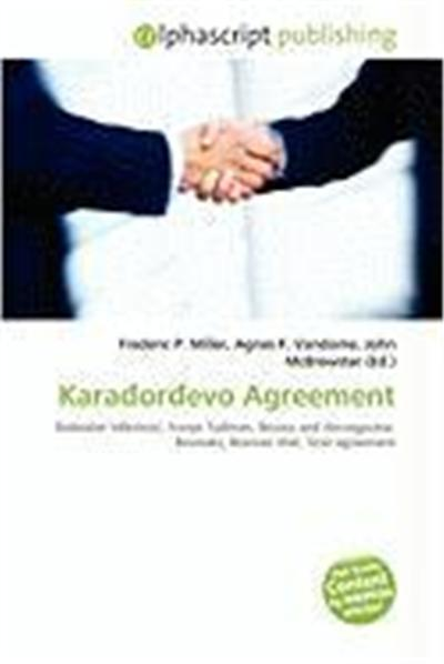 Karaorevo Agreement