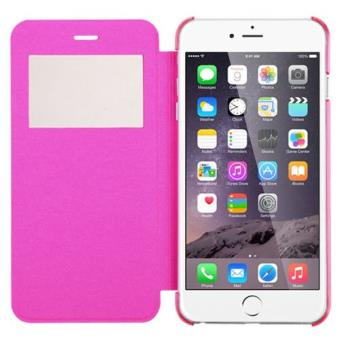 cabling coque etui pochette folio housse fen tre rose iphone 6 iphone 6s contour int rieur. Black Bedroom Furniture Sets. Home Design Ideas