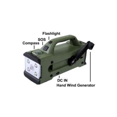 Torche En Dynamo 1 Multifonction Moustique Lampe Sos 7 Batterie Anti e9WEDHYI2