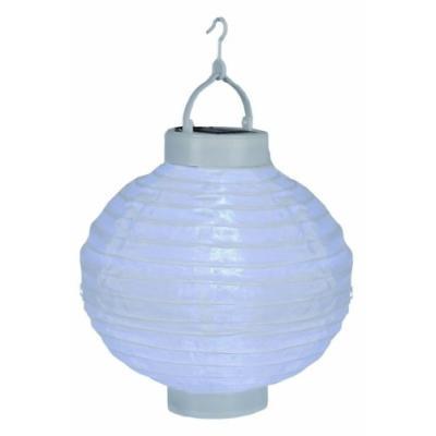 BEST SEASON 477-15 LAMPION SOLAIRE LED LUMIÈRE BLANCHE FROIDE ENV. 20 CM