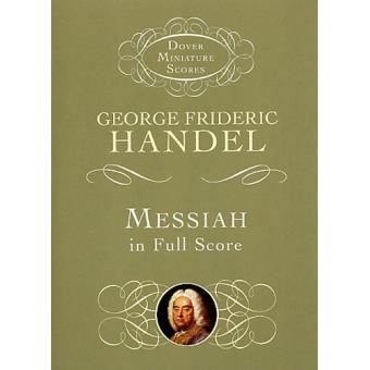 HANDEL MESSIAH IN FULL SCORE