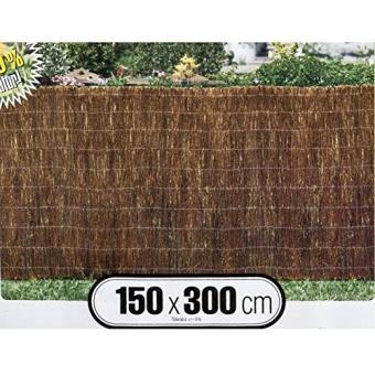windhager 06696 brise vue en brande de bruy re marron 1 5. Black Bedroom Furniture Sets. Home Design Ideas