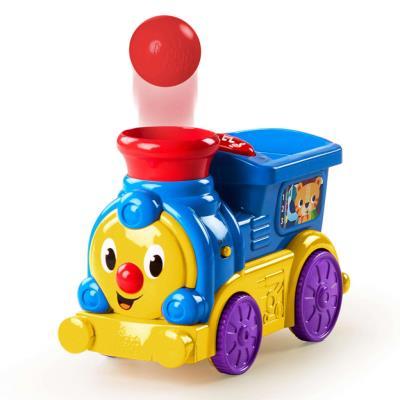 Bright Starts Jouet d'activité Roll & Pop Train K10308