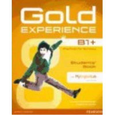 Gold Experience B1+ : Student'S Book With Multi-Rom & Myenglishlab - VV.AA.