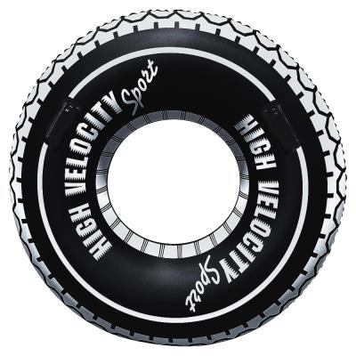 bouée pneu D119cm avec poignée BESTWAY