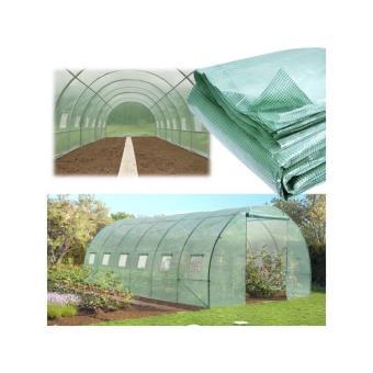 b che de rechange 140 gr m pour serre tunnel 18m verte mat riel pour serre et semis achat. Black Bedroom Furniture Sets. Home Design Ideas