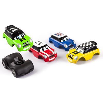Go Mini - Stunt Set - Turbo Pullback - Voiture à Friction + Rampe