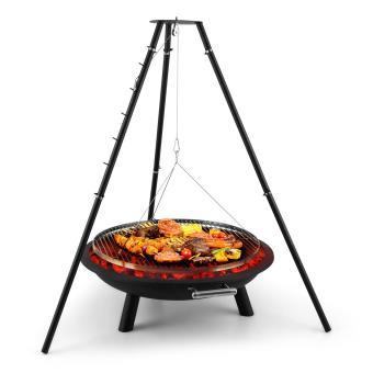 BLUMFELDT Delion Grill pivotant potence Pieds hauts Câble