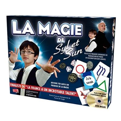 Magie : coffret syl et sun + dvd oid magic