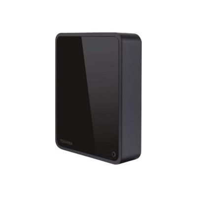 """Disque dur de bureau Toshiba Canvio 3.5"""" USB 3.0 4 To Noir - Disque dur externe. Remise permanente de 5% pour les adhérents. Commandez vos produits high-tech au meilleur prix en ligne et retirez-les en magasin."""