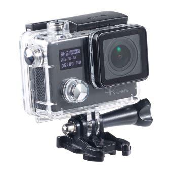 Caméra sport 4K UHD avec 2 écrans et capteur Sony 16 Mpx