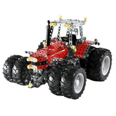 Tronico - tr10083 - jeu de construction - professional - tracteur massey 8690 - 8 roues - 1391 pièces