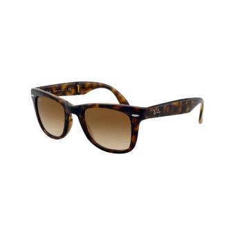fa6dfbf1b1 Ray-ban wayfarer pliantes tabac clair brun dégradé - medium-large - ecaille  - Lunettes - Achat & prix | fnac