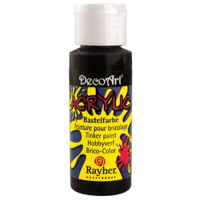 Peinture acrylique - Noir - 59 ml