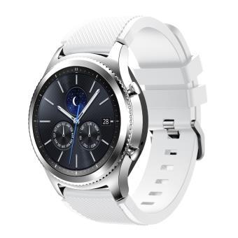 Bracelet Soft Silicone Sports pour Samsung Gear S3 Frontier / S3 Classic ,  White , Montre connectée , Achat \u0026 prix