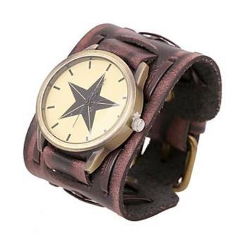 bracelet cuir large pour montre