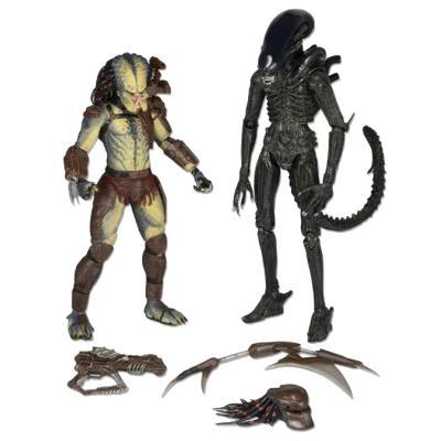 Alien vs. Predator pack 2 figurines Renegade Predator vs. Big Chap Alien 18 cm