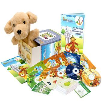 Kit Audiovisuel Petralingua Dvd Cd Livres Anglais Pour Enfants Et Cours En Ligne