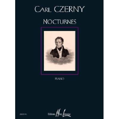 Partitions classique LEMOINE CZERNY CARL NOCTURNES PIANO Piano