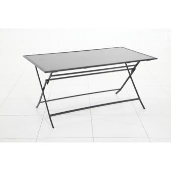Achat Flexia Table d'extérieur pliante 6 Places Noir FJTulK1c3