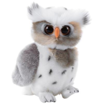Hybu - Peluche de Hibou des Neiges - 26 cm