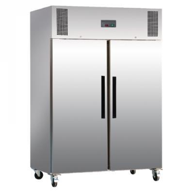 Réfrigérateur en inox 2 portes 1200 Litres