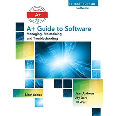 A+ Guide to Software - [Livre en VO]
