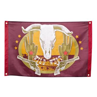 Drapeau Western 90 X 60cm Decoration Anniversaire Article De