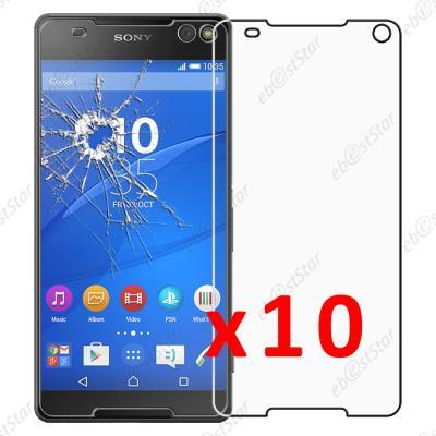Lot// Film Vitre Verre Trempé de Protection d/'écran Pour Sony Xperia 10 PLUS