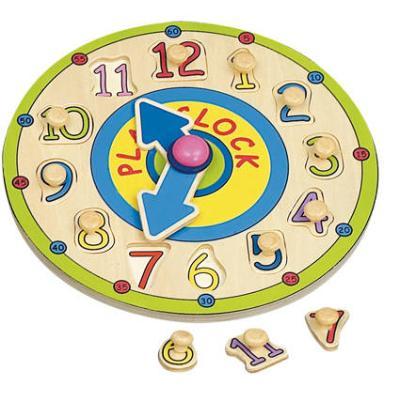 Horloge puzzle avec picots IMAGIN