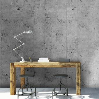papier peint effet beton industriel e papier gris d coration des murs achat. Black Bedroom Furniture Sets. Home Design Ideas