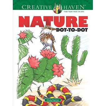 Creative haven nature dot-to-dot