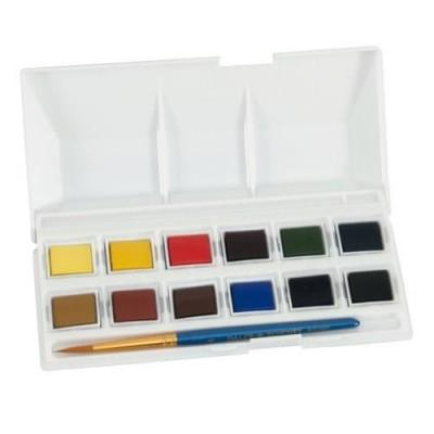 Simply Aquarelle Watercolour Pocket 12 Demi-Godets