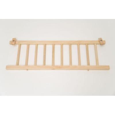 babybay 100206 - barrière de sécurité tobi vernie - barrière de sécurité pour lits babybay original et midi