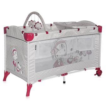 lit parapluie b b lit pliant 2 niveaux arena 2 lorelli gris lits parapluie achat. Black Bedroom Furniture Sets. Home Design Ideas