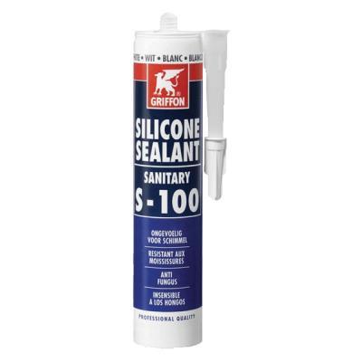 Mastic silicone sanitaire cartouche 310ml sanitaire Translucide