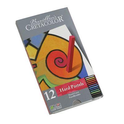Cretacolor 480 12 – Pastel Craie, 12 couleurs