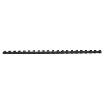Anneaux de reliure plastique Noir 32mm pack de 50