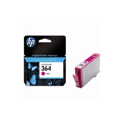 La cartouche d'encre magenta HP 364 permet d'imprimer des photos de qualité professionnelle. Faites confiance à HP pour une impression de qualité supérieure et des cartouches d'encre faciles à recycler. Produisez des impressions imperméables et résistante